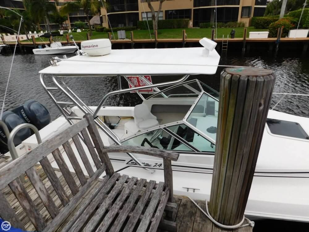 1991 Sea Ray boat for sale, model of the boat is Laguna 24 & Image # 2 of 41