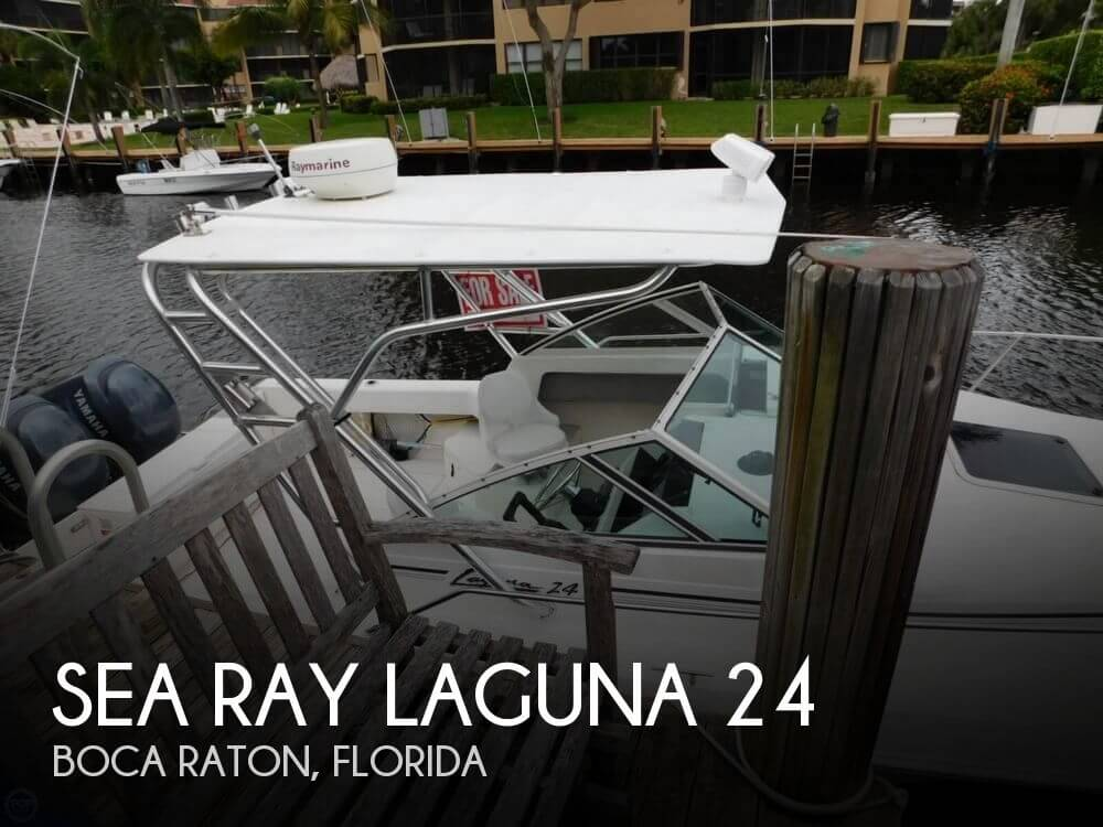 1991 Sea Ray boat for sale, model of the boat is Laguna 24 & Image # 1 of 41