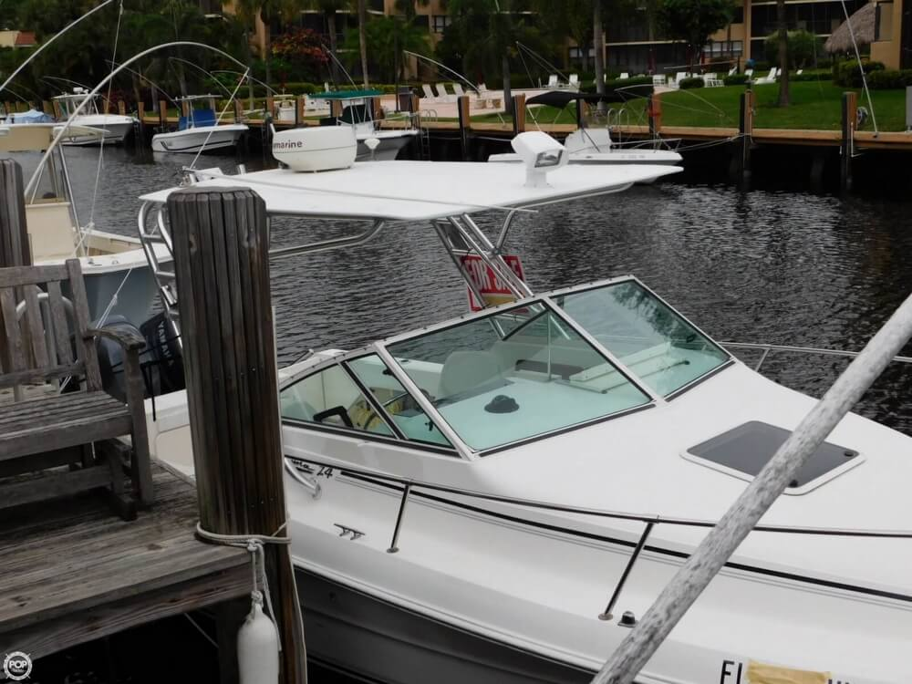 1991 Sea Ray boat for sale, model of the boat is Laguna 24 & Image # 6 of 41
