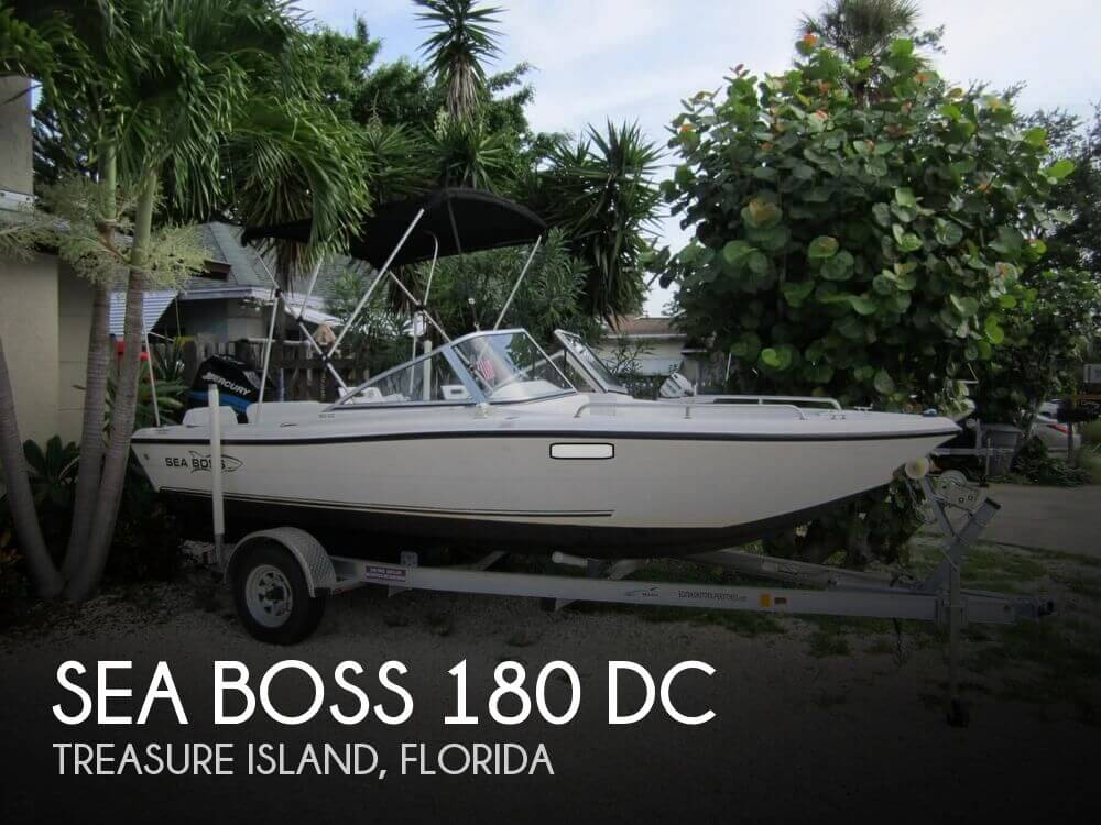 2007 Sea Boss 180 DC