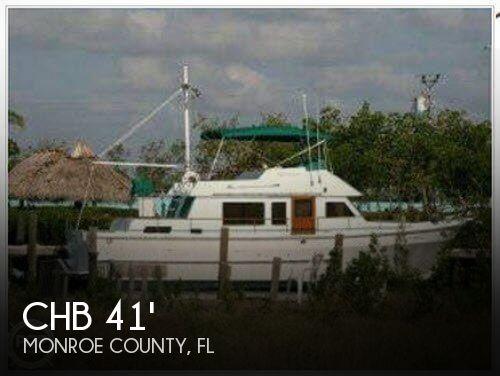 1982 CHB 41 Double Cabin Trawler - Photo #1