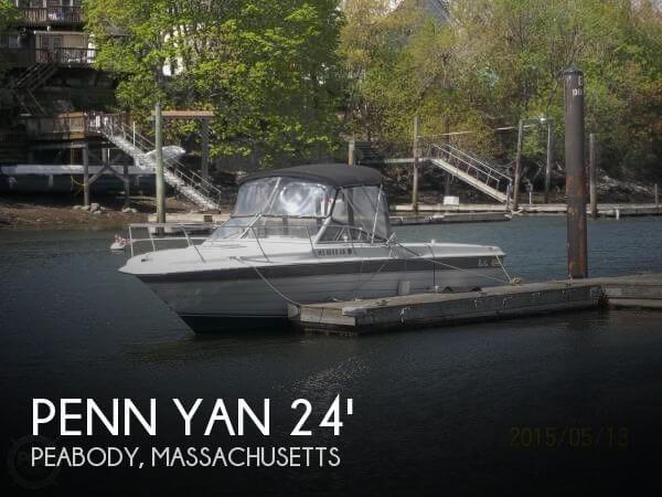 Used Penn yan Boats For Sale by owner   1987 Penn Yan 24
