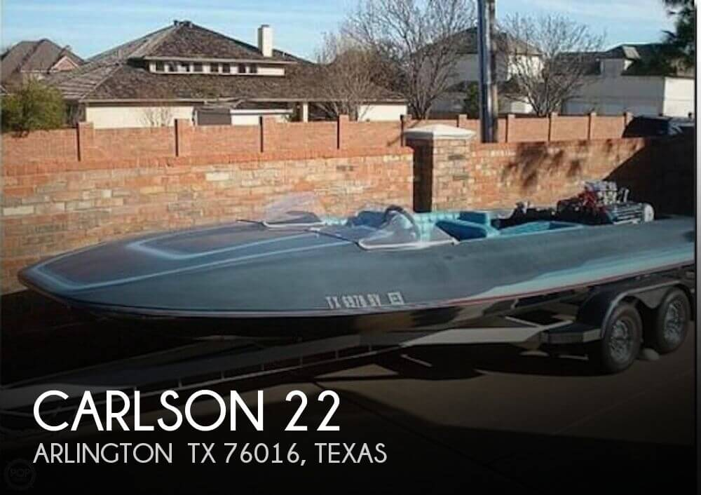 Used Carlson Boats For Sale by owner | 1965 Carlson 22