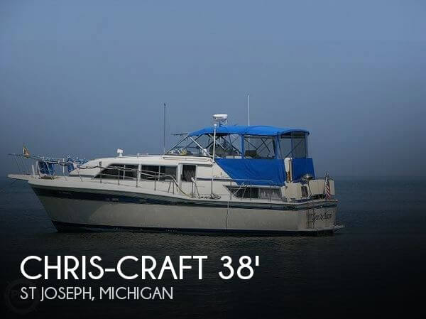 1985 Chris-Craft 381 Catalina - Photo #1