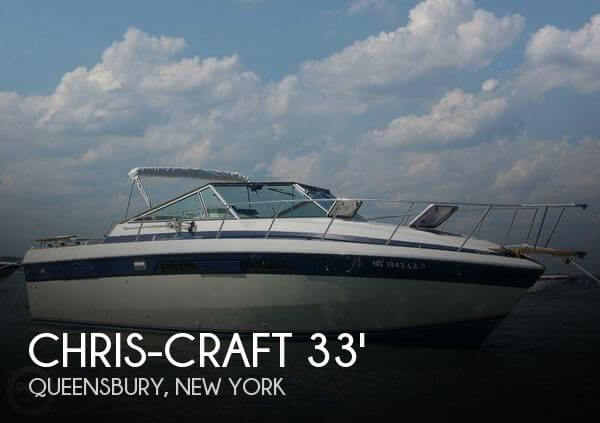 Used Chris-Craft Boats For Sale in New York by owner | 1984 Chris-Craft 33
