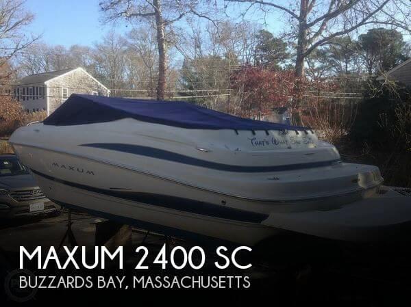 2003 Maxum 2400 SC - Photo #1