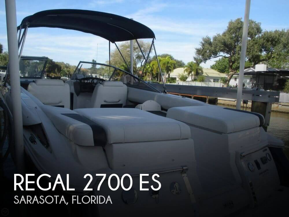 2009 Regal 2700 ES - Photo #1