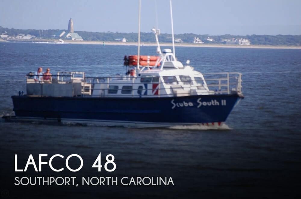 Used Boats For Sale in Myrtle Beach, South Carolina by owner | 1977 Lafco 48