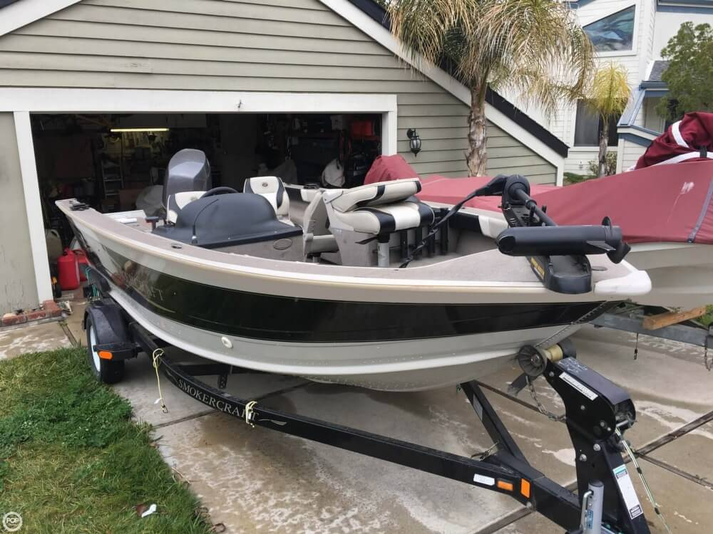 2001 Smoker Craft boat for sale, model of the boat is Millentia 172 & Image # 4 of 40