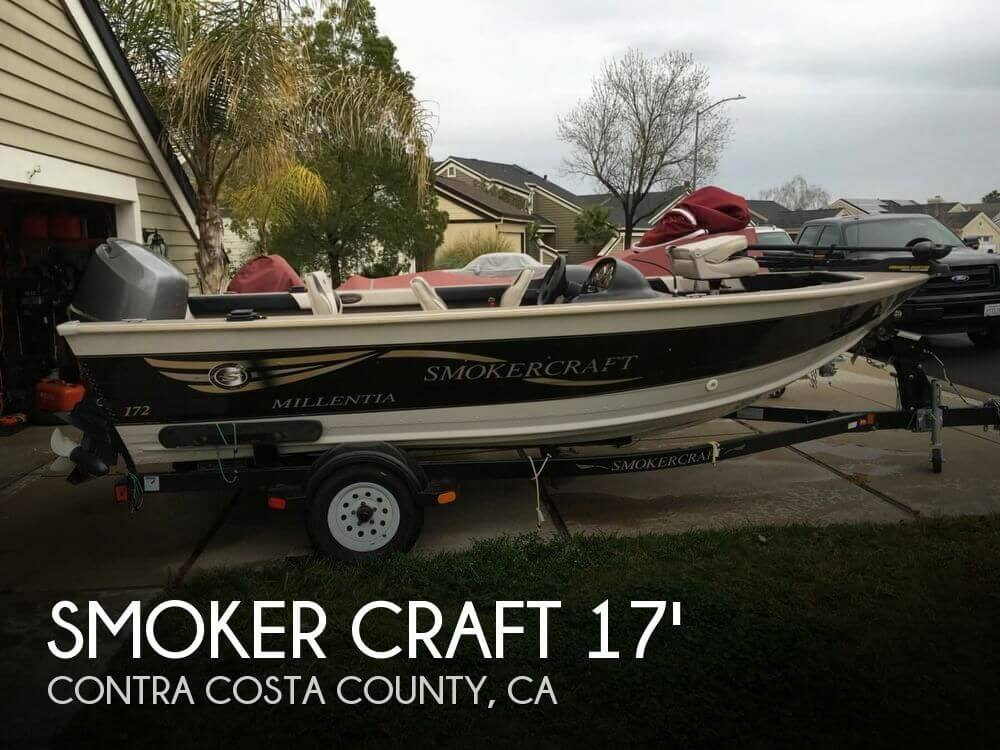 2001 Smoker Craft boat for sale, model of the boat is Millentia 172 & Image # 1 of 40