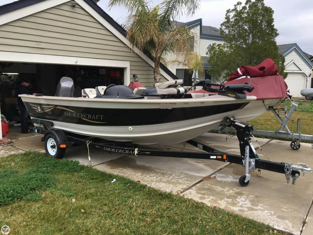 2001 Smoker Craft boat for sale, model of the boat is Millentia 172 & Image # 3 of 40