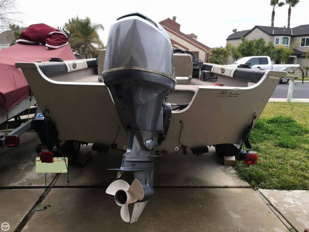 2001 Smoker Craft boat for sale, model of the boat is Millentia 172 & Image # 12 of 40
