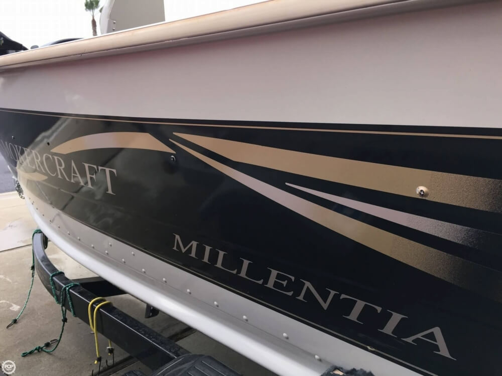 2001 Smoker Craft boat for sale, model of the boat is Millentia 172 & Image # 23 of 40