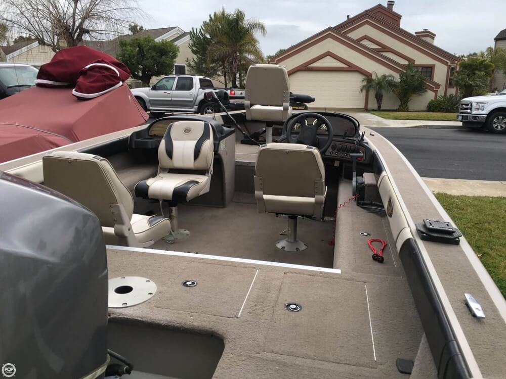 2001 Smoker Craft boat for sale, model of the boat is Millentia 172 & Image # 29 of 40