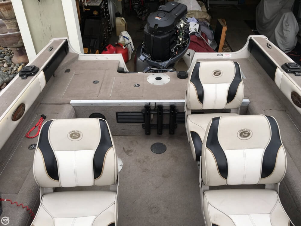 2001 Smoker Craft boat for sale, model of the boat is Millentia 172 & Image # 6 of 40