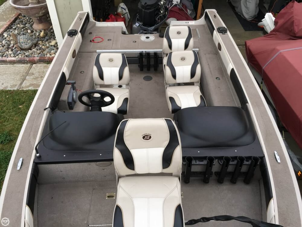 2001 Smoker Craft boat for sale, model of the boat is Millentia 172 & Image # 8 of 40