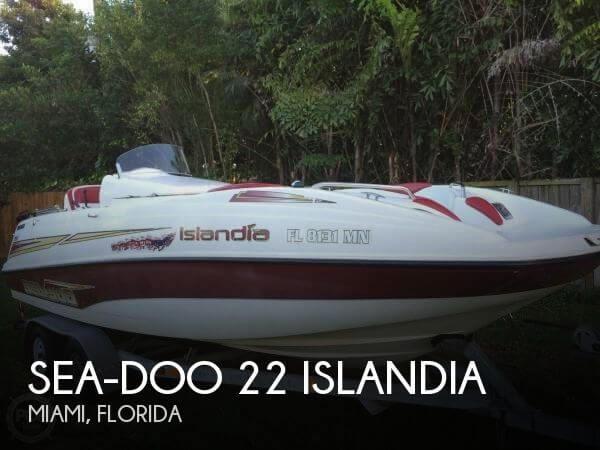 For Sale Used 2003 Sea Doo Pwc 22 Islandia In Miami