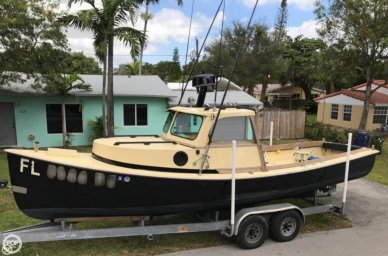 Groverbuilt 26 Downeast Pilothouse, 26', for sale - $29,500