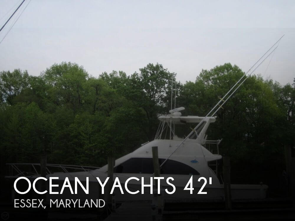 1991 Ocean Yachts 42 Super Sport - Photo #1