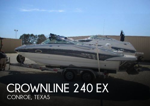 Used Crownline Deck Boats For Sale by owner | 2004 Crownline 22