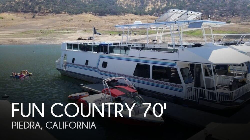 2001 Fun Country 70' X 16' Houseboat - Photo #1