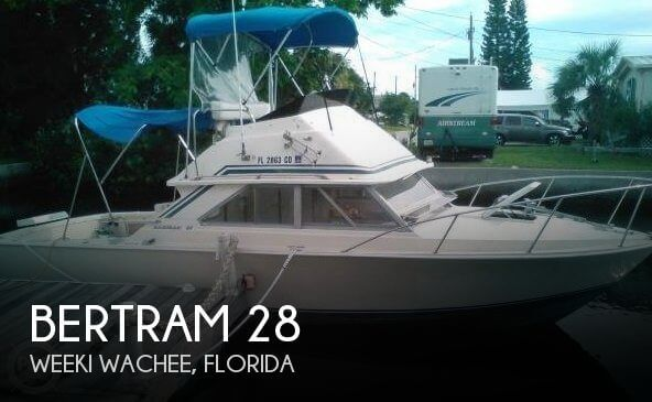 Used Fishing boats For Sale in Ocala, Florida by owner | 1978 Bertram 28