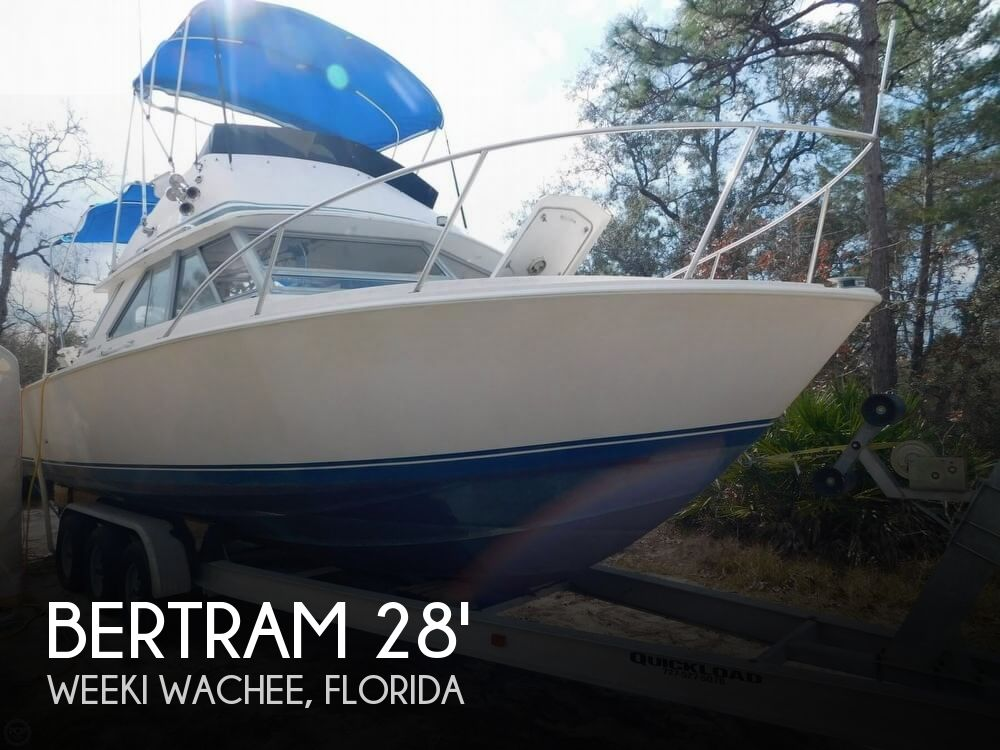 1978 Bertram boat for sale, model of the boat is 28 Sport Fisherman & Image # 1 of 40