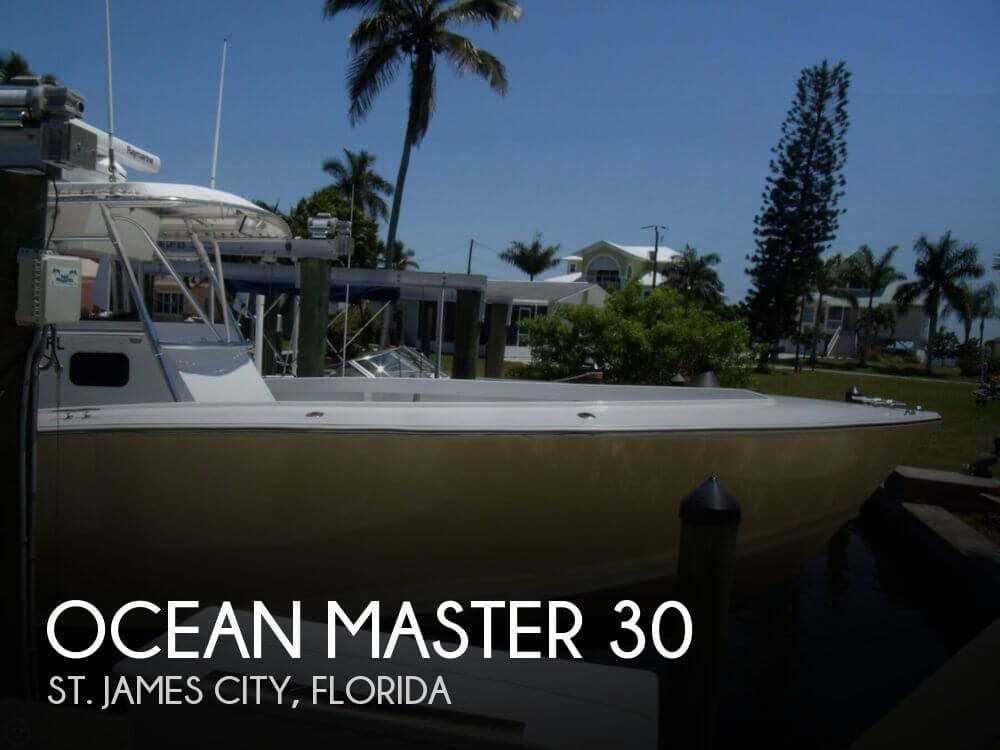 1987 Ocean Master 30 - Photo #1