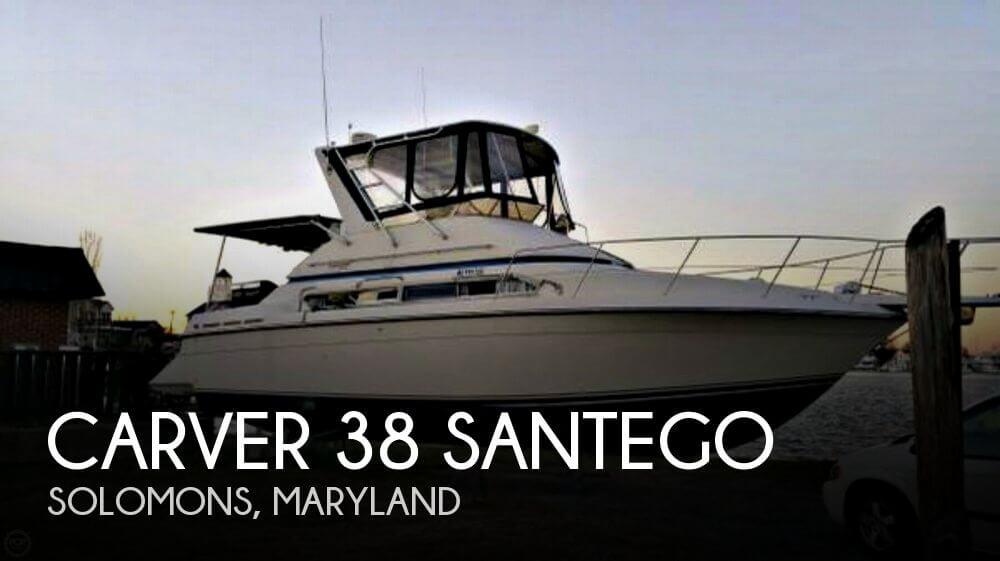 1989 Carver 38 Santego - Photo #1