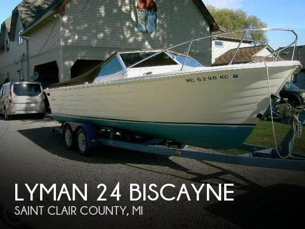 Used Lyman Boats For Sale by owner | 1975 Lyman 24