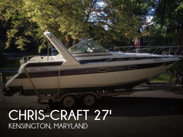Chris Craft Amerosport Specs