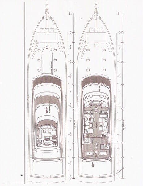2020 Sovereign boat for sale, model of the boat is 109 Sportfish Yacht & Image # 34 of 35