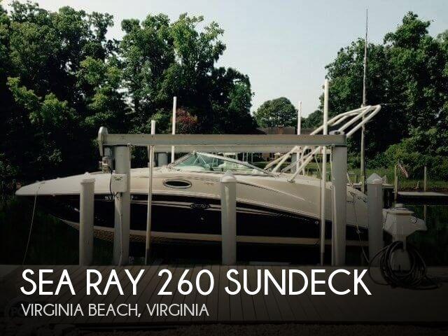 2008 Sea Ray 260 Sundeck - Photo #1