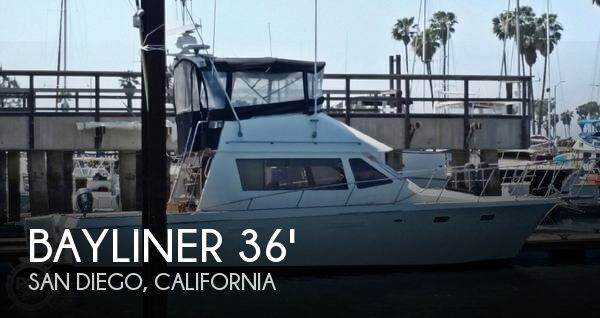 1979 bayliner 36 fishing boat for sale in san diego ca for Fishing boats for sale san diego