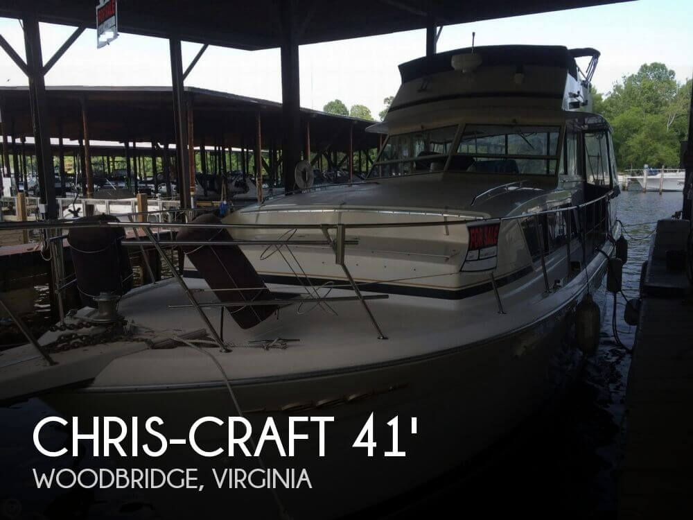 1987 CHRIS CRAFT 410 CONSTELLATION for sale