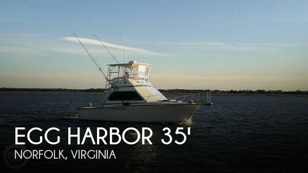 Used Boats For Sale in Virginia by owner | 1989 Egg Harbor 35
