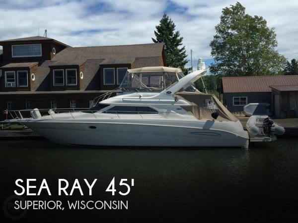 Used Boats For Sale in Duluth, Minnesota by owner | 2002 Sea Ray 45