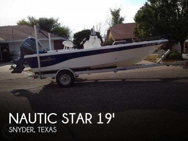 2015 Nautic Star 1910 BAY for sale