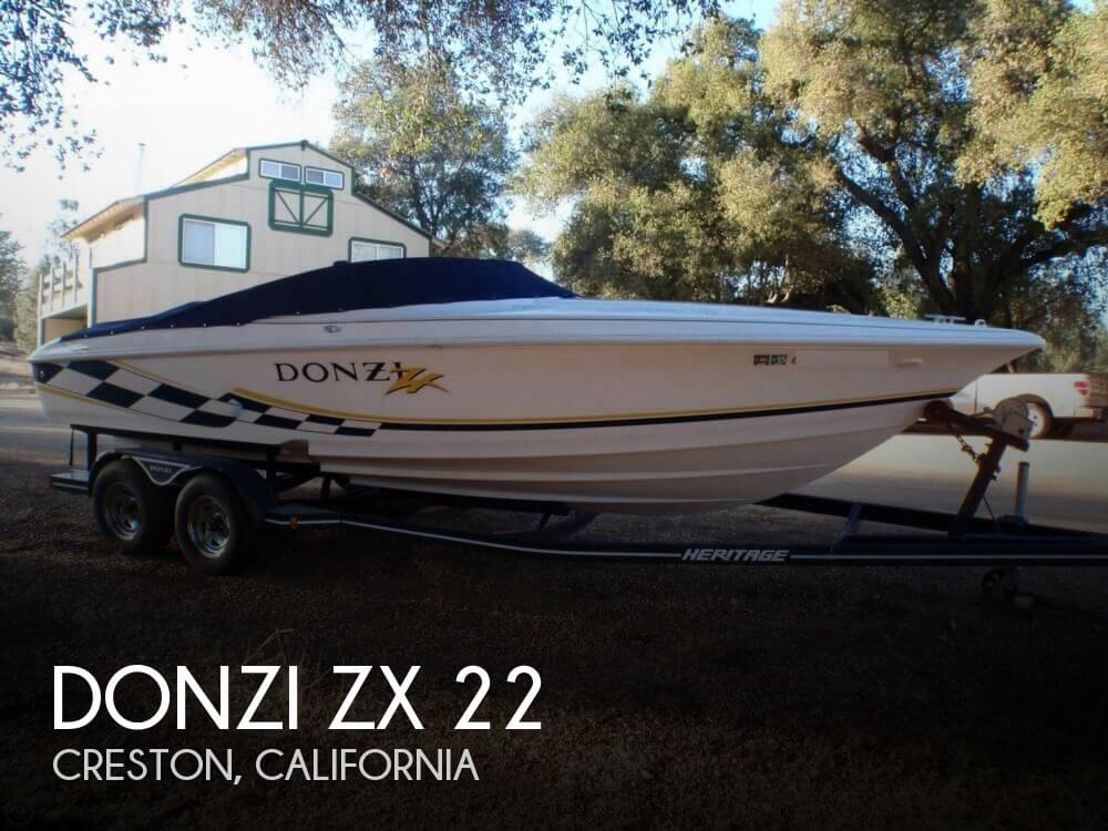 Used 2001 Donzi Zx 22 For Sale