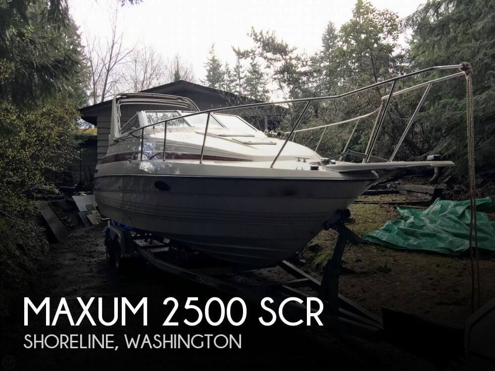 1990 MAXUM 2500 SCR for sale