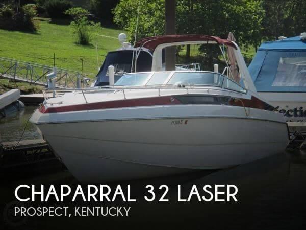 1989 Chaparral 32 Laser - Photo #1