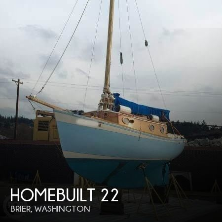2009 HOMEBUILT 22 MOTORSAILER for sale