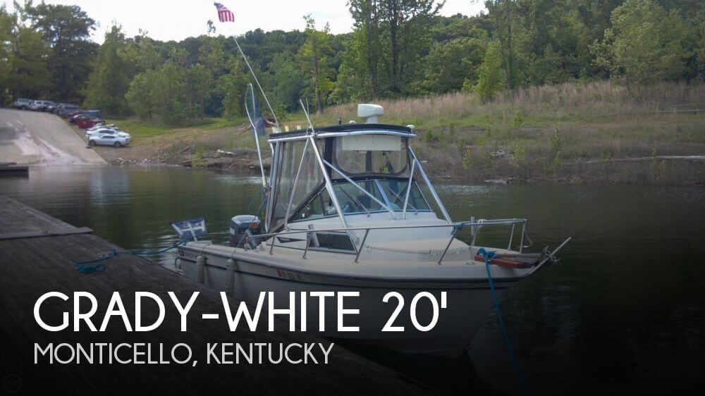 Grady white 204 overnighter for sale in monticello ky for for Grady white fishing boats