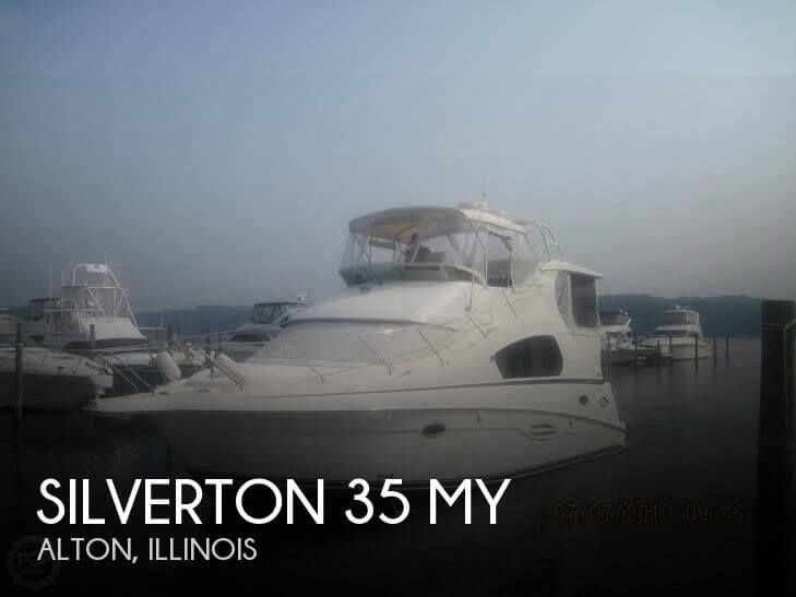 Used Boats For Sale in Illinois by owner | 2006 Silverton 40