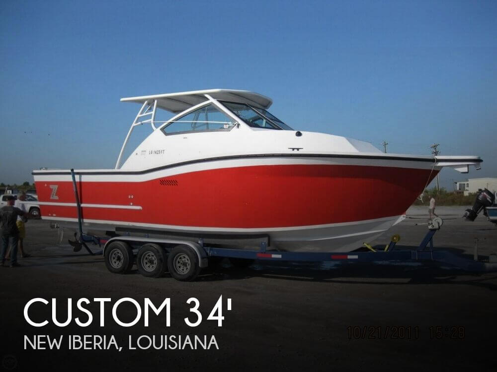 Used Boats For Sale in Baton Rouge, Louisiana by owner | 2008 Custom 34 Walkaround