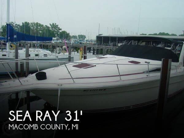 1990 Sea Ray 310 Express Cruiser - Photo #1
