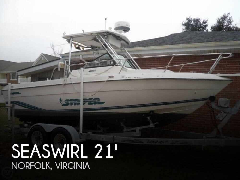 1995 SEASWIRL 2150 STRIPER for sale