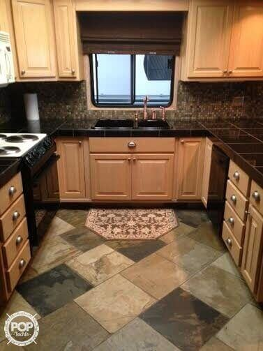 Granite, Slate And Marble Used Throughout