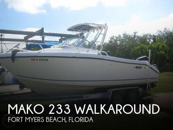 2000 Mako 233 Walkaround - Photo #1