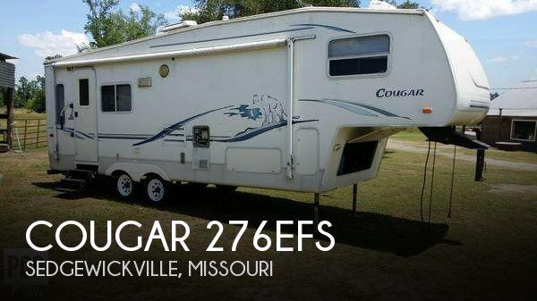2001 Keystone Cougar 276EFS